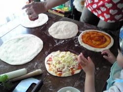 ピザパーティー