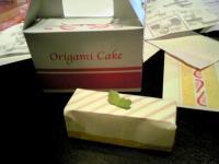 おりがみケーキ