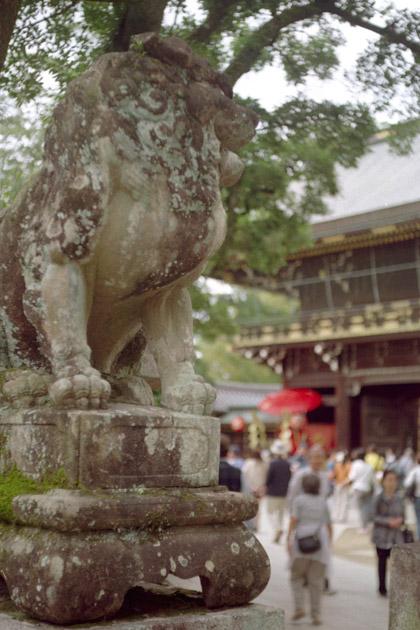 狛犬/北野天満宮