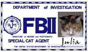 CAT連邦捜査官 NO.017 「Julia」