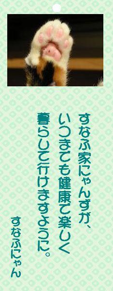 七夕祭り 01 すなふにゃんの願い事