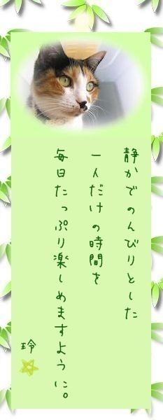 七夕祭り 2009 24 レイコさんのお願い事