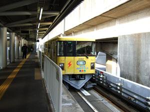 ニューシャトルで鉄道博物館まで移動