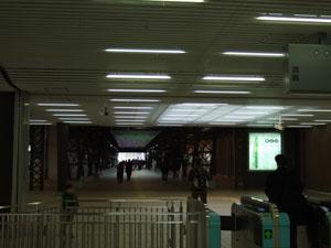 鉄道博物館コンコース