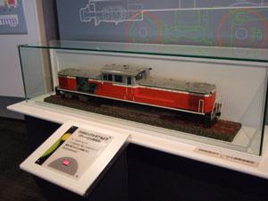 DD51機関車の模型