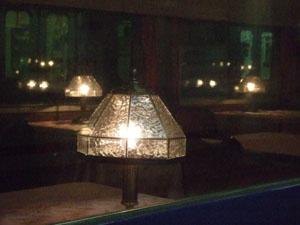 グランシャリオ(食堂車)のランプ