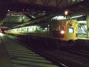 夜行列車の情緒漂う雰囲気