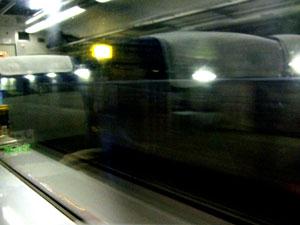 「日本一のモグラ駅」で知られる土合駅を通過