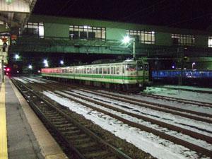 鉄道の街、新津らしく線路が沢山