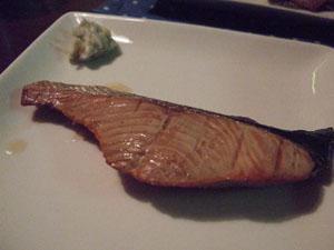 村上の鮭を肴に晩酌