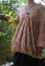 チュニック花柄