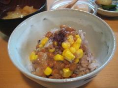 納豆(スイートコーン入り)