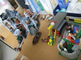 レゴ 机の上