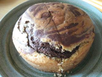 お手軽マーブルケーキ