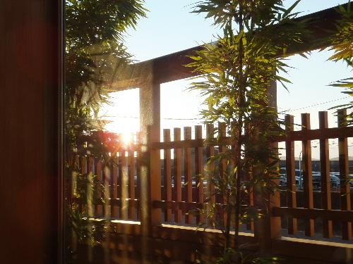 和風ダイニング あくらからの夕陽♪