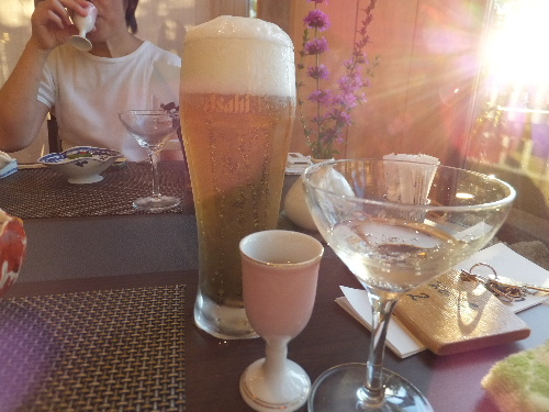 食前酒&ビール♪