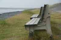 海辺のベンチ-2