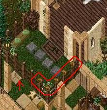 沼地の家 ベランダ