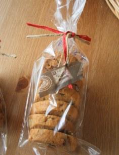 チョコピーナツクッキー