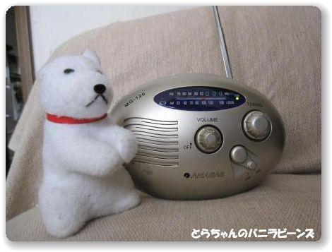 手巻き式充電ラジオ