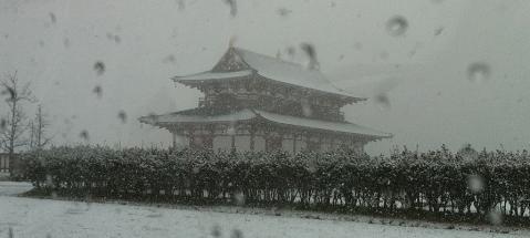 雪の大極殿