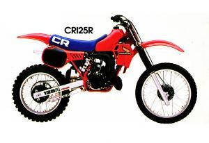 1983 HONDA CR125R