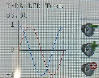 IrDA_LCD表示例