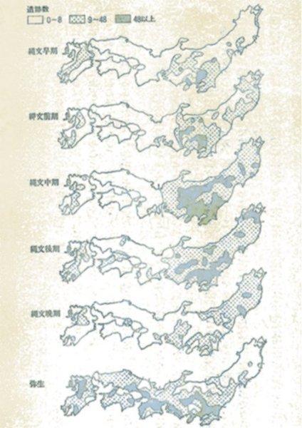 遺跡分布図