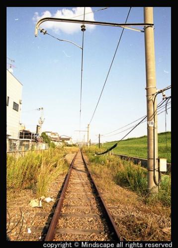 続く鉄路(ミチ)