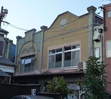 モダン洋風長屋②