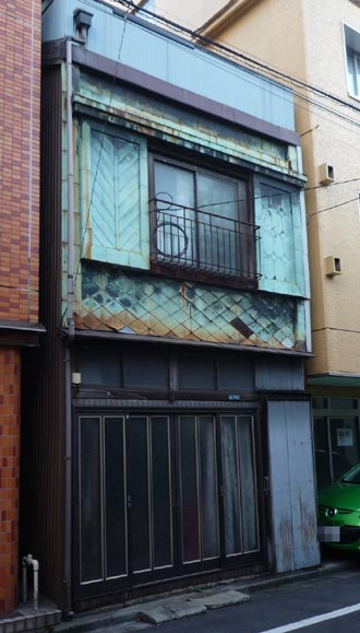 浅草橋2 銅板住宅①