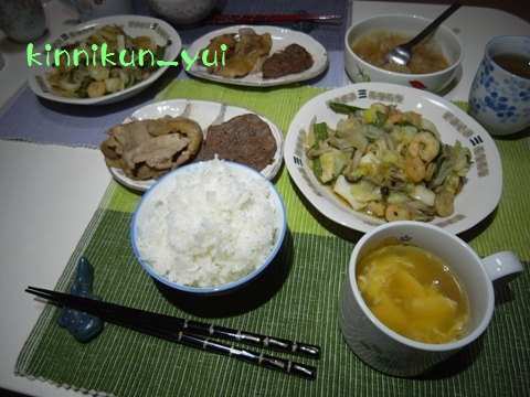 20110829なかじま家の食卓