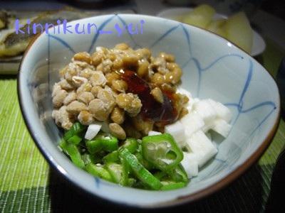 納豆&ネバネバのコラボ
