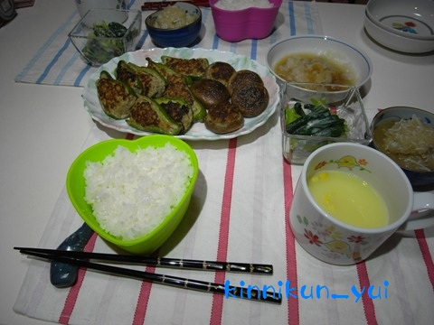 20110904なかじま家の食卓