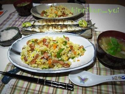 20111004なかじま家の食卓