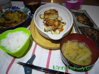 20111006なかじま家の食卓
