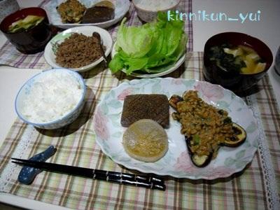 20111013なかじま家の食卓