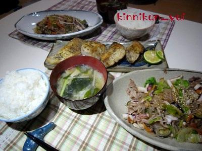 20111015なかじま家の食卓