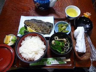 9.24焼き鯖定食