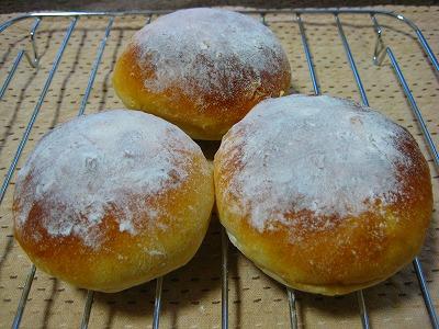 グレーフルと蜂蜜のパン