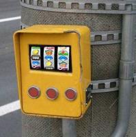 スロット信号ボタン