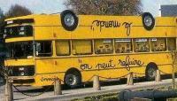 逆さまバス