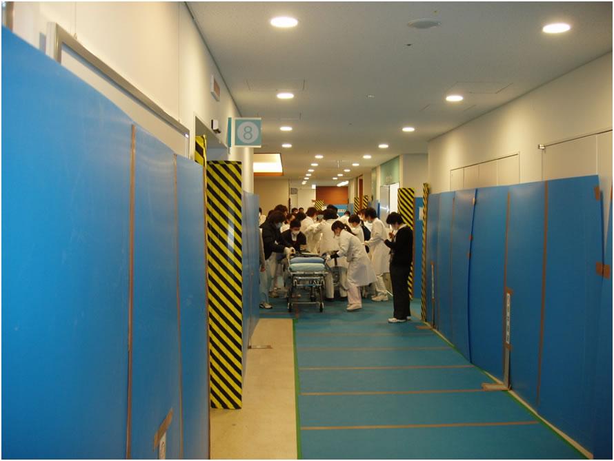 新病院での移乗