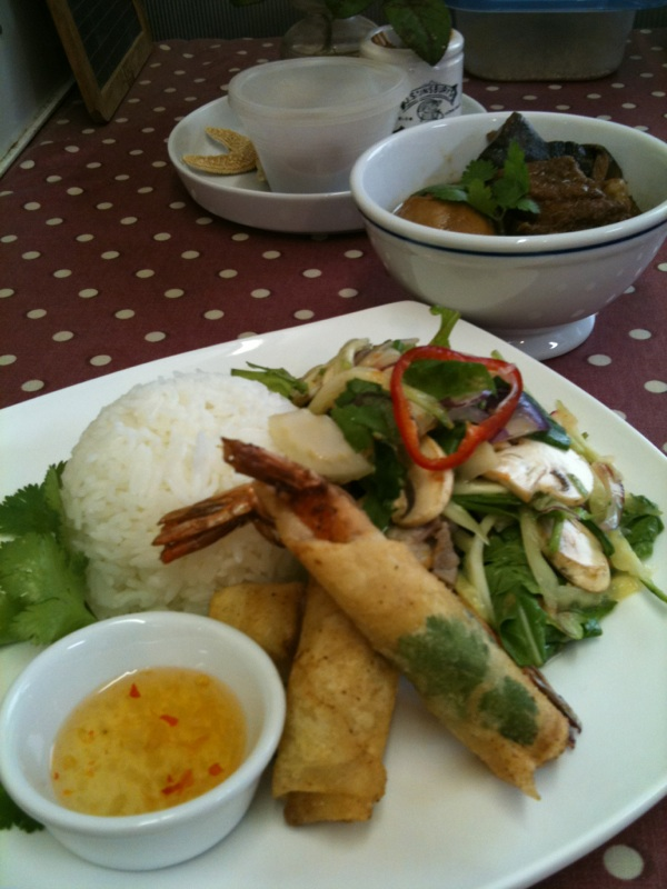 10月タイ料理