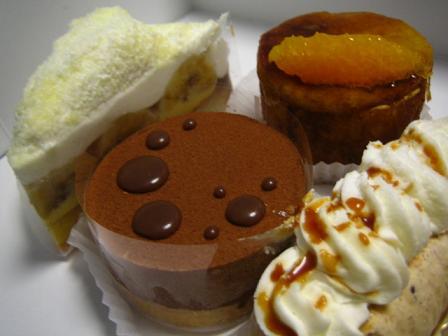 ケーキたち☆