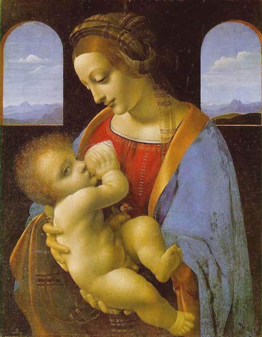 ダ・ヴィンチ 授乳の聖母