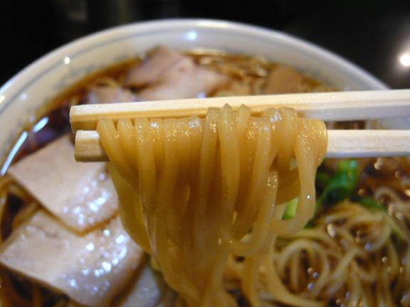 さるぱぱ中華そば麺