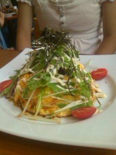 鶏と香味野菜の和風オムライス@太陽のカフェ(一宮)