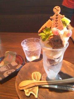 焼き菓子パフェ@長閑