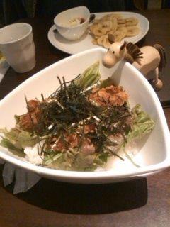 カラアゲ丼@Fig Cafe